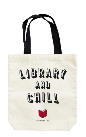 Library & Chill Tote