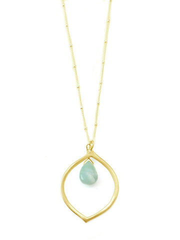 Bloom Larimar Necklace