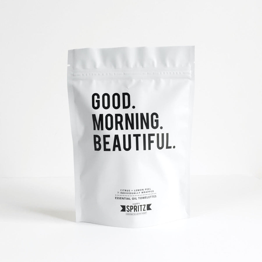 Good Morning Beautiful Towelette