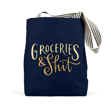 Groceries & Shit Tote