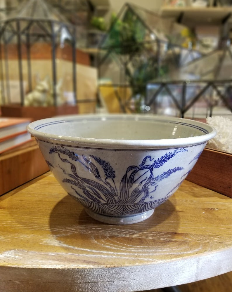 Botanical Serving Bowl