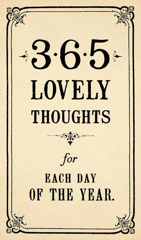 Lovely Thoughts Notepad