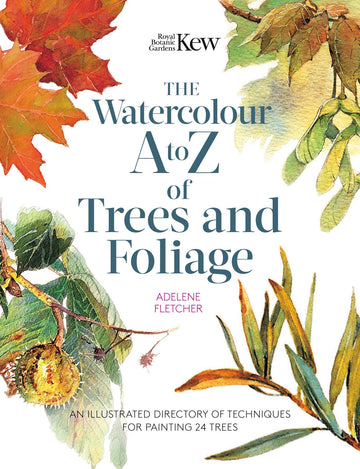 Watercolor A to Z of Trees and Foliage