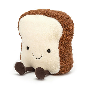 Fluffy Toast Stuffie