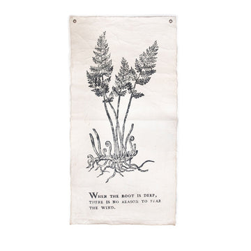 Deep Root Botanical Tarp