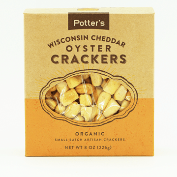 Wisconsin Cheddar Oyster Crackers