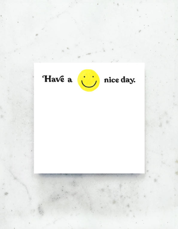 Have a Nice Day Desk Pad