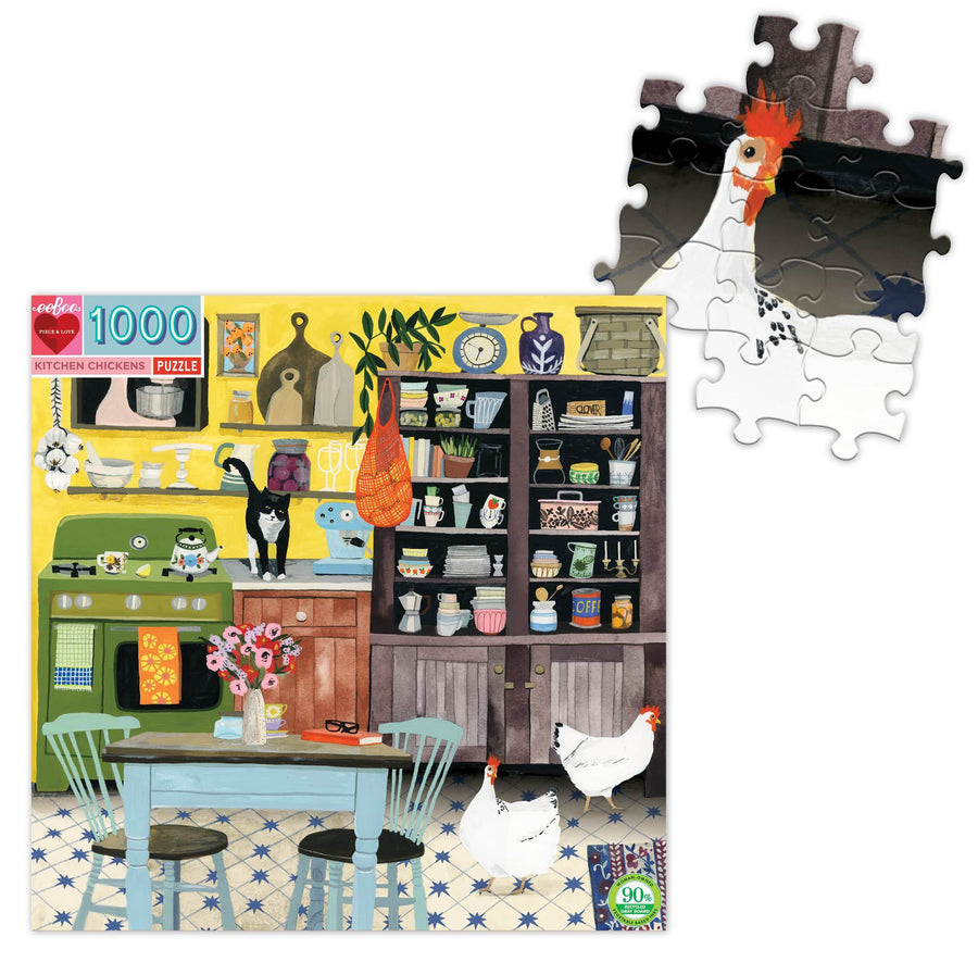 Kitchen Chicken Puzzle