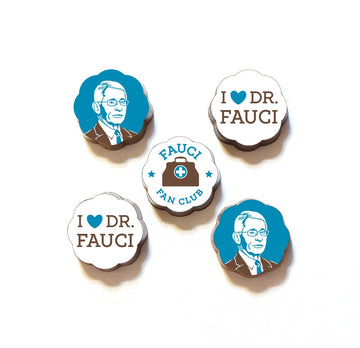Dr. Fauci Chocolate Caramels