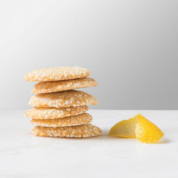 Scratch-Made Lemon Sugar Cookies