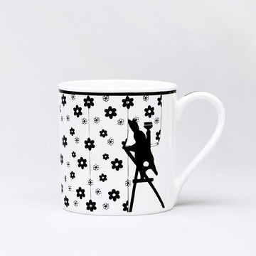 Wallpapering Rabbit Mug