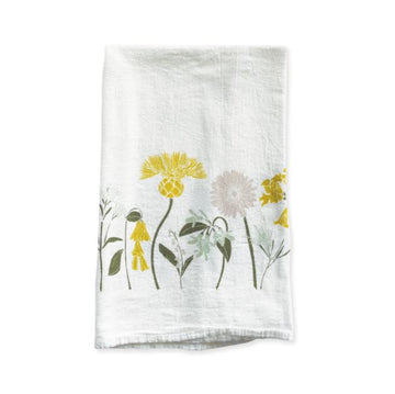 Happiness Flour Sack Kitchen Towel