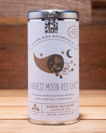 Organic Herbal Tea: Harvest Moon Red Chai