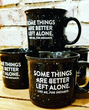 Better Left Alone Mug