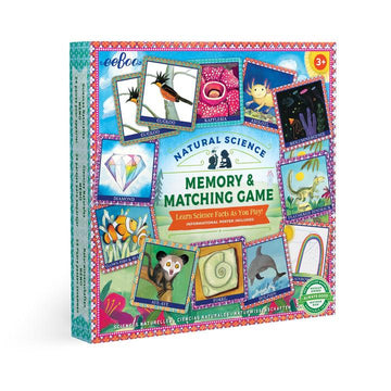 Natural Science Memory Game