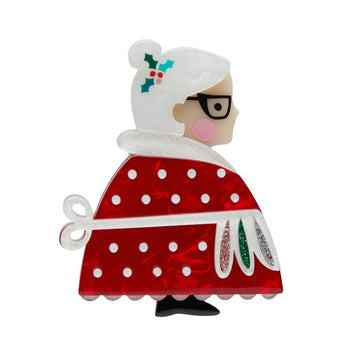 Mrs. Claus Pin