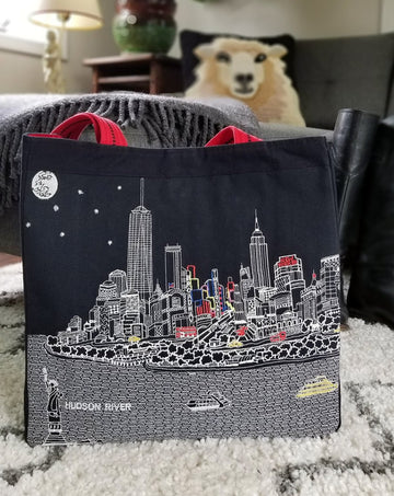 City Stitch Tote