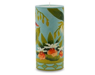 Orchid Garden Illuminated Candle