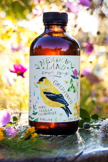 Oregon Goldfinch Simple Syrup
