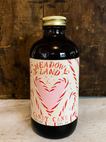 Oregon Candy Cane Simple Syrup