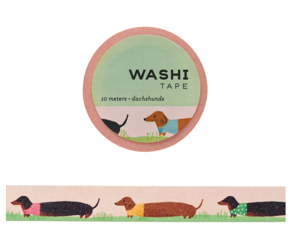 Washi Tape - Dachshunds