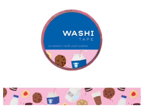 Washi Tape - Milk + Cookies