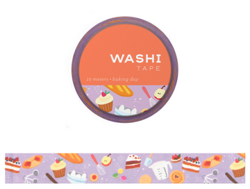 Washi Tape- Baking Day