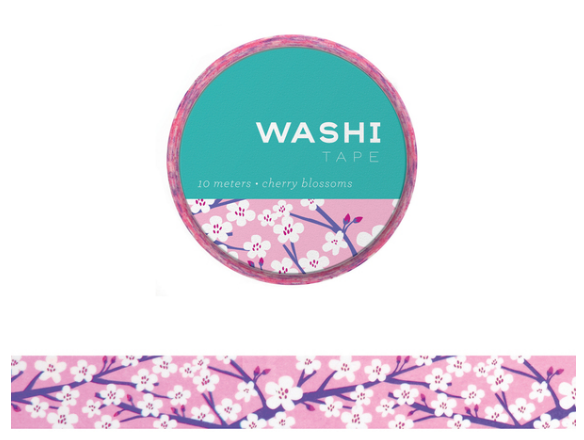 Washi Tape - Cherry Blossoms