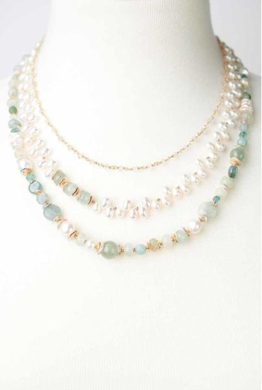 Serenity Multistrand Necklace