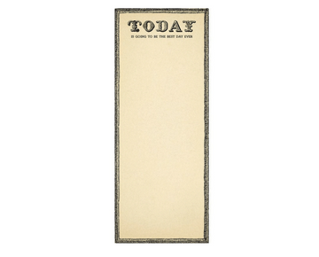 Best Day Ever Skinny Notepad