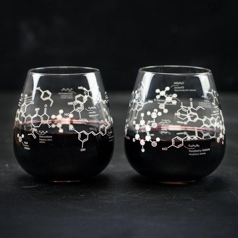 Science of Red Wine Glass Set