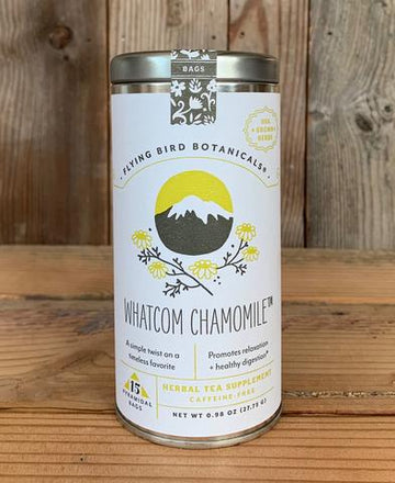 Organic Herbal Tea: Whatcom Chamomile