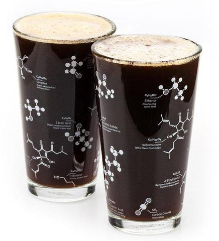 Science of Beer Pint Glass Set