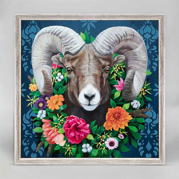 Bighorn Sheep Mini Canvas
