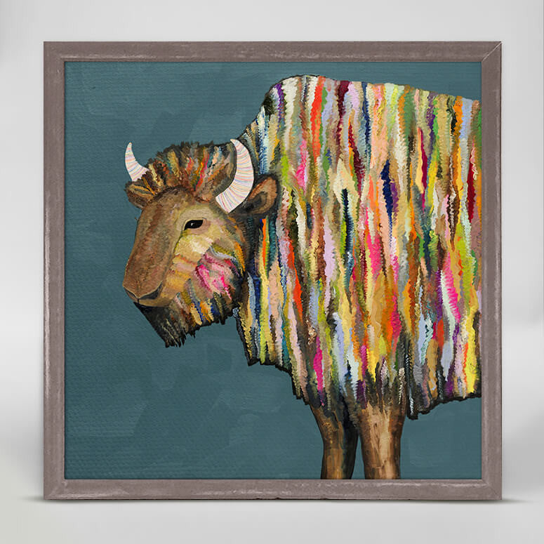 Bison Mini Canvas