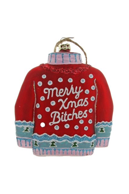 Merry Xmas! Sweater Ornament