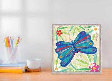 Blooming Butterfly Mini Canvas