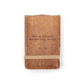 Bob Ross Leather Journal