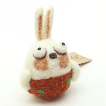 Rabbit Felty Ornament