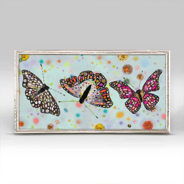 Butterfly Bush Trio Mini Canvas