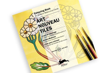 Art Coloring Cards