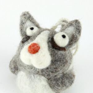 Cat Felty Ornament