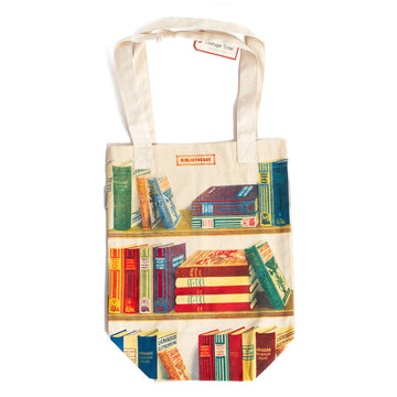Bibliotheque Canvas Tote