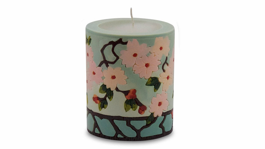 Cherry Blossom Illuminated Candle