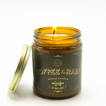 Coffee in the Rain Soy Candle