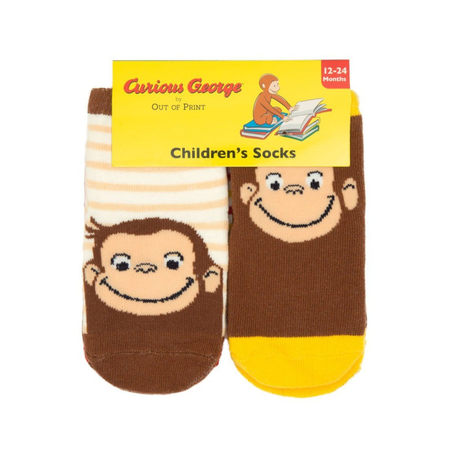 Curious George Baby Socks
