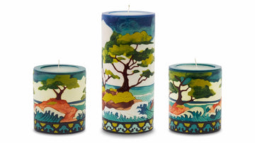 Cypress Illuminated Candle