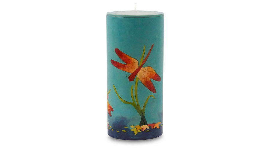 Dragonfly Illuminated Candle