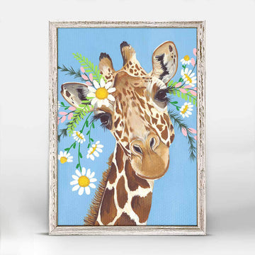 Flora and Fauna Charlie Mini Canvas