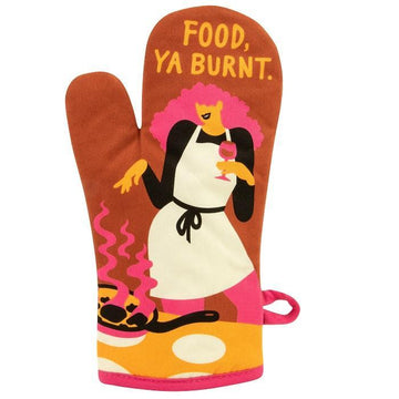 Food Ya Burnt Oven Mitt
